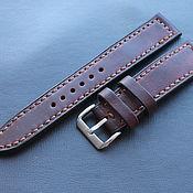 Украшения handmade. Livemaster - original item Hand made watch strap 22 mm or Apple Watch. Handmade.