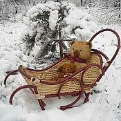 """Куклы и игрушки ручной работы. Ярмарка Мастеров - ручная работа Саночки"""" Первый снег"""". Handmade."""