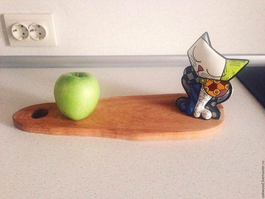 Кухня ручной работы. Ярмарка Мастеров - ручная работа. Купить Разделочная доска из  дуба. Handmade. Дуб, разделочные доски, дерево