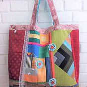 Сумки и аксессуары ручной работы. Ярмарка Мастеров - ручная работа Сумка текстильная для модных мамочек в стиле хиппи на каждый день. Handmade.