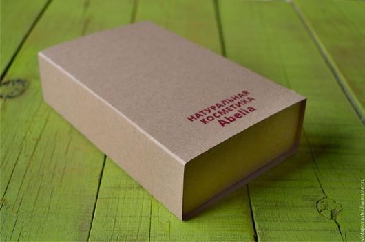 Подарочная упаковка ручной работы. Ярмарка Мастеров - ручная работа. Купить Крафт-коробочка для упаковки (с вашим логотипом или без). Handmade.