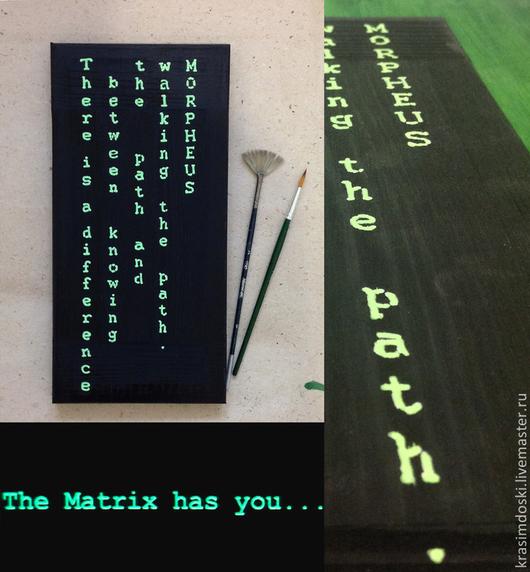 А какая у вас любимая цитата из The Matrix? Воплотим в любом формате!