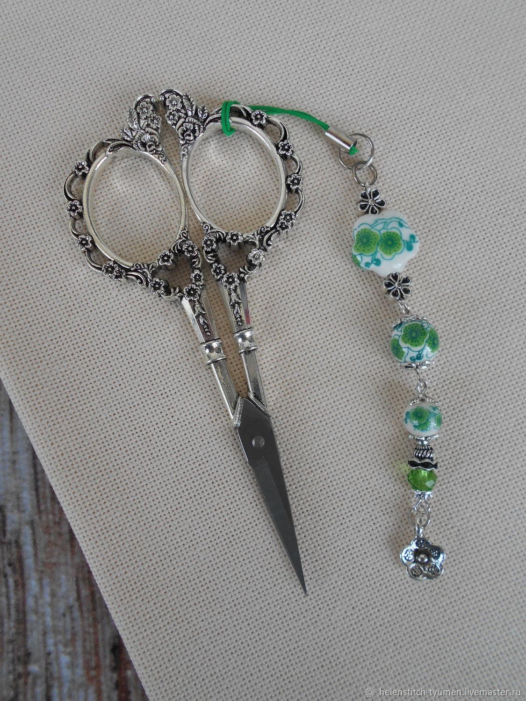 Маячок для ножниц, Аксессуары для вышивки, Тюмень,  Фото №1