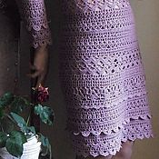 Одежда handmade. Livemaster - original item Knitted crochet warm dress