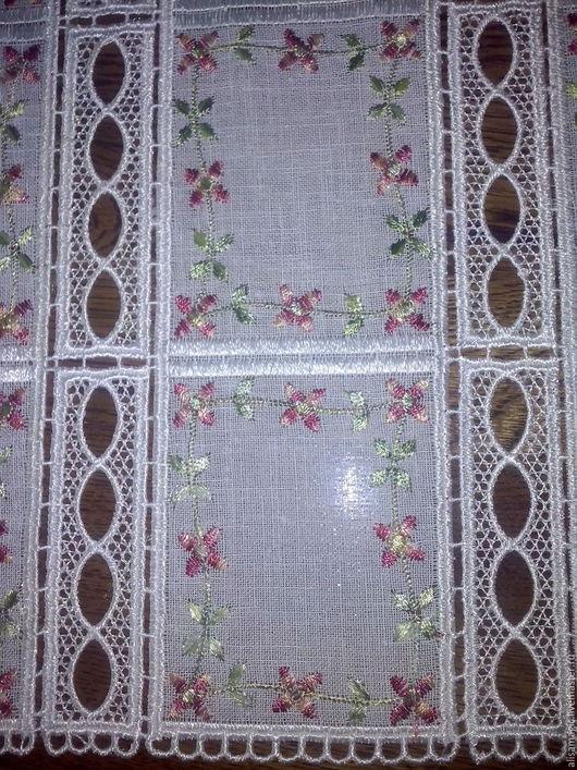 Текстиль, ковры ручной работы. Ярмарка Мастеров - ручная работа. Купить Вышитая салфетка. Handmade. Комбинированный, скатерть ручной работы