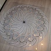 Для дома и интерьера ручной работы. Ярмарка Мастеров - ручная работа Коврик декоративный. Handmade.