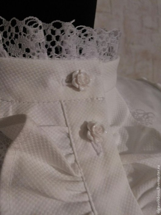 Блузки ручной работы. Ярмарка Мастеров - ручная работа. Купить Блузка Виктория. Handmade. Белый, блузка на заказ