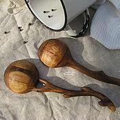 Посуда ручной работы. Ярмарка Мастеров - ручная работа Ложечки салатные. Handmade.