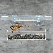 Для дома и интерьера handmade. Livemaster - original item Street bird feeder on the window