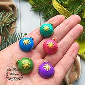 Материалы для творчества handmade. Livemaster - original item Buttons on a magnet