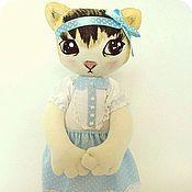 Куклы и игрушки ручной работы. Ярмарка Мастеров - ручная работа котёнок Фаня. Handmade.