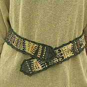 Аксессуары handmade. Livemaster - original item Woven belt. Handmade.