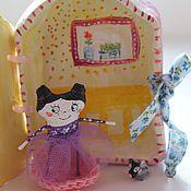 Куклы и игрушки ручной работы. Ярмарка Мастеров - ручная работа Малышка с домиком. Handmade.