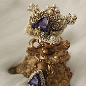 """Украшения ручной работы. Ярмарка Мастеров - ручная работа Гарнитур """"Royal"""". Handmade."""