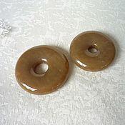 Украшения handmade. Livemaster - original item Copy of Copy of Round pendant of jade. Handmade.