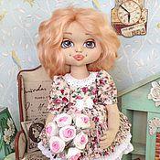 Куклы и игрушки ручной работы. Ярмарка Мастеров - ручная работа Элли. Авторская текстильная кукла. Handmade.