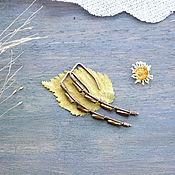"""Украшения ручной работы. Ярмарка Мастеров - ручная работа Серьги """"Мелкий дождь"""" арт. 1004. Handmade."""