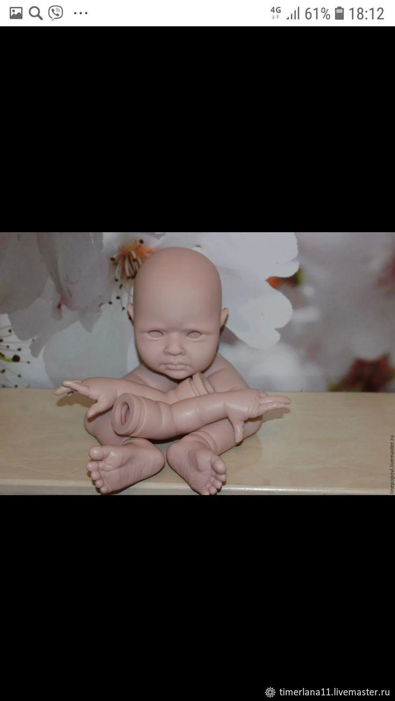 Куклы и игрушки ручной работы. Ярмарка Мастеров - ручная работа. Купить Молд Rowan, от Jessica Schenk.(Рован). Handmade. Бежевый