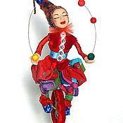 Куклы и игрушки ручной работы. Ярмарка Мастеров - ручная работа Кукла Авторская Равновесие. Handmade.