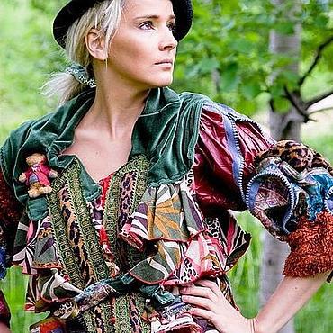 Одежда ручной работы. Ярмарка Мастеров - ручная работа куртка ВЕСЕЛУШКА. Handmade.
