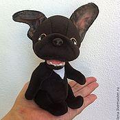 Куклы и игрушки ручной работы. Ярмарка Мастеров - ручная работа на заказ французский бульдог Антуан. Handmade.