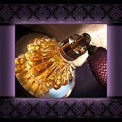 """Косметика ручной работы. Ярмарка Мастеров - ручная работа """" Iris noir """" духи натуральные афродизиак. Handmade."""