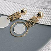 Украшения handmade. Livemaster - original item Asymmetrical earrings. Handmade.