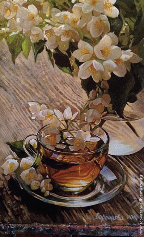 """""""Жасминовый чай"""", Картины, Чехов,  Фото №1"""
