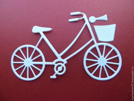 Открытки и скрапбукинг ручной работы. Ярмарка Мастеров - ручная работа. Купить Вырубка Велосипед. Handmade. Вырубка, вырубка для открыток