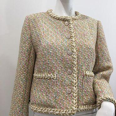 Одежда ручной работы. Ярмарка Мастеров - ручная работа Жакет CHANEL. Handmade.
