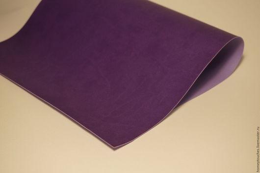 Другие виды рукоделия ручной работы. Ярмарка Мастеров - ручная работа. Купить Кожзам переплетный Синтре Вивелла Цвет 4864 Фиолетовый. Handmade.