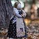 """Народные куклы ручной работы. Ярмарка Мастеров - ручная работа. Купить """"Вера..."""". Handmade. Кукла ручной работы, лён"""