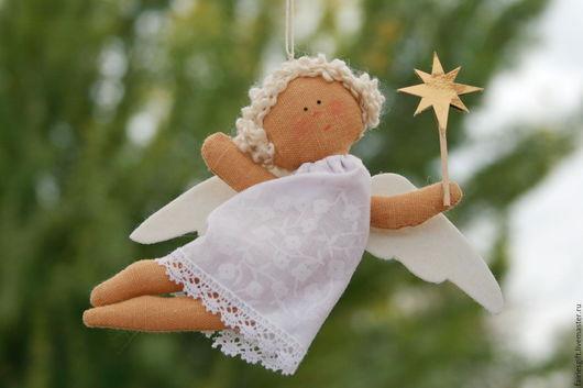 Человечки ручной работы. Ярмарка Мастеров - ручная работа. Купить Ангелок. Handmade. Белый, ангелочек, ангел сна, оберег в подарок