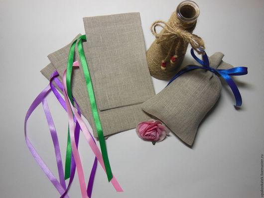 Упаковка ручной работы. Ярмарка Мастеров - ручная работа. Купить Подарочный мешочек из льна. Handmade. Мешочек, подарочная упаковка