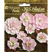 2 вида объемных цветов в наборах, Petaloo