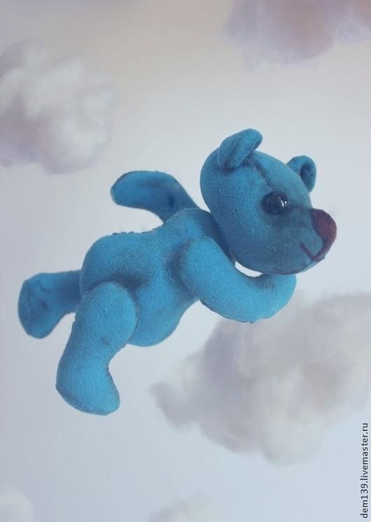 Игрушки животные, ручной работы. Ярмарка Мастеров - ручная работа. Купить медведики ( Тедди- мишки). Handmade. Синий