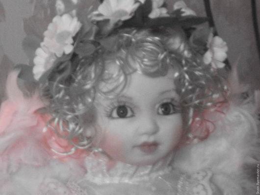 Коллекционные куклы ручной работы. Ярмарка Мастеров - ручная работа. Купить ангел-хранитель. Handmade. Розовый, юбилей, синтепон