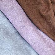Ткани ручной работы. Ярмарка Мастеров - ручная работа Ткань лоден(вареная шерсть )3  цвета. Handmade.
