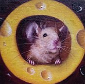 Картины и панно handmade. Livemaster - original item Oil painting Hello!. Handmade.