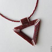 """Украшения ручной работы. Ярмарка Мастеров - ручная работа Кулон """"Треугольник"""". Handmade."""