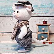 Мягкие игрушки ручной работы. Ярмарка Мастеров - ручная работа Мышь Кекс. Символ года.. Handmade.