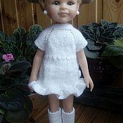 Одежда для кукол ручной работы. Ярмарка Мастеров - ручная работа Одежда для кукол: платье с коротким рукавом. Handmade.