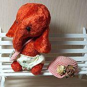 Куклы и игрушки ручной работы. Ярмарка Мастеров - ручная работа Слоник Мышиный горошек (старая цена 1200). Handmade.