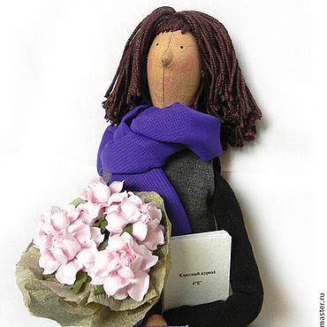 """Куклы и игрушки ручной работы. Ярмарка Мастеров - ручная работа """"Любимая учительница"""" - портретная кукла. Handmade."""
