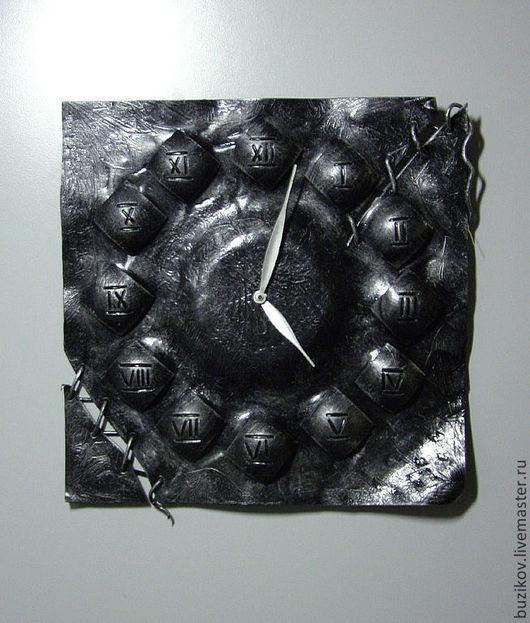 Часы для дома ручной работы. Ярмарка Мастеров - ручная работа. Купить Часы настенные кованые. Handmade. Серебряный, сталь