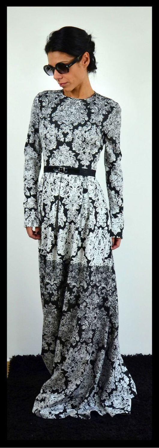 Платья ручной работы. Ярмарка Мастеров - ручная работа. Купить Длинное платье Floral ( long). Handmade. Платье