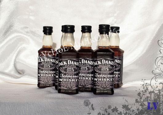 """Мыло ручной работы. Ярмарка Мастеров - ручная работа. Купить Мыло для рук """"Jack Daniels"""". Handmade. 23 февраля"""