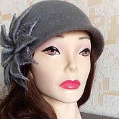 Аксессуары handmade. Livemaster - original item Hat-the Cloche