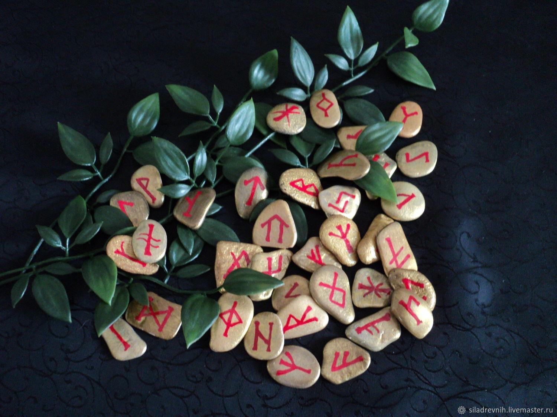 Set of runes 'Vedar', Runes, St. Petersburg,  Фото №1