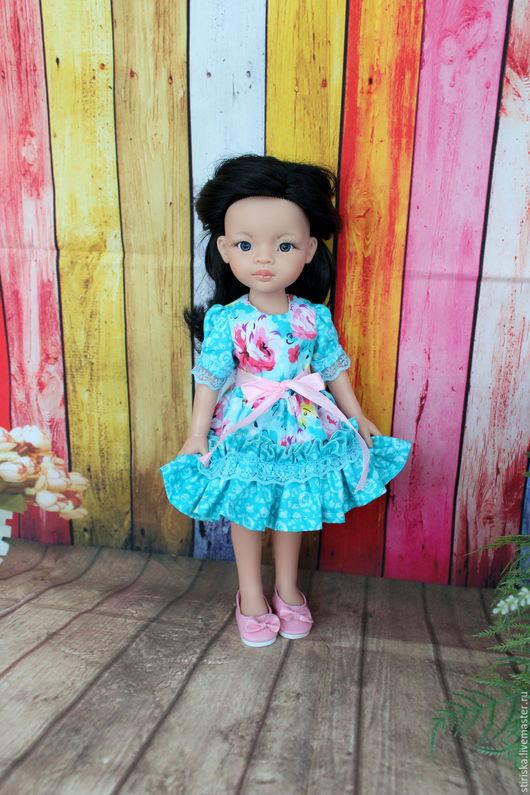 Одежда для кукол ручной работы. Ярмарка Мастеров - ручная работа. Купить Платье для кукол Паола Рейна Paola Reina. Handmade.